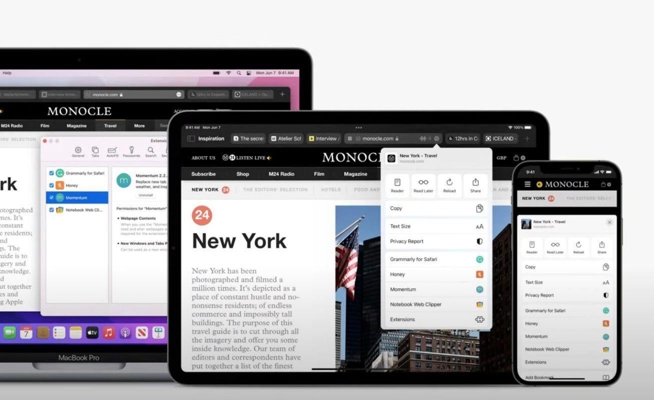 extensiones Safari iPhone iPad 1