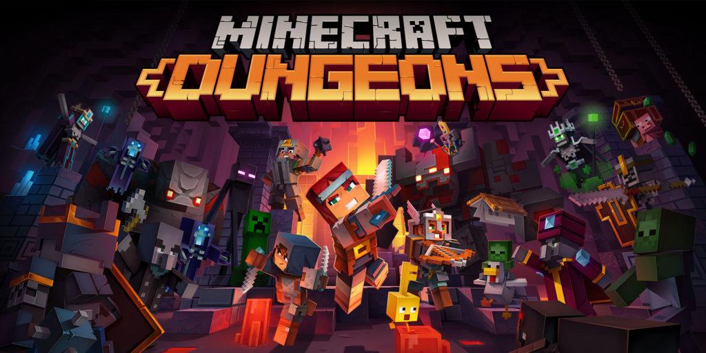 Minecraft Dungeons es uno de los mejores juegos cooperativos.